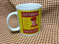 Vintage THOMAS J. LIPTON TEA COFFEE MUG CUP TIN BOX COMPANY
