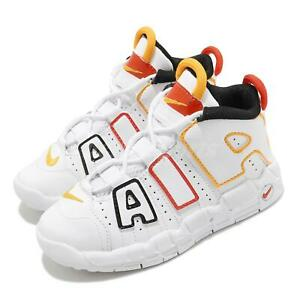 Nike Air More Uptempo TD Roswell Raygun White Red Toddler Infant Baby DD9287-100