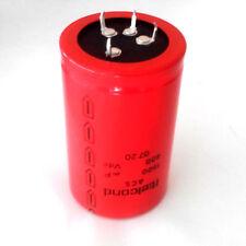 Condensatore elettrolitico ITELCOND acs 1500uF 400Vdc valvole tube 75x45 mm