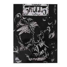 Skull Skeleton Tattoo Reference Book Instruction Sheet Flash Art Supply