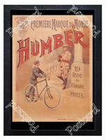 Historic Humber bicycles, late 19th century Advertising Postcard 2