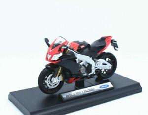 Welly Modèle réduit de moto Miniature Aprilia RSV 4 Factory 1/18 NEU