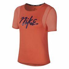 Nike Running Tee Women's Magic Ember Active Wear Sportswear T-Shirt