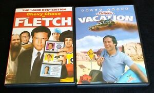 FLETCH DVD + VACATION DVD + FREE SHIPPING!!! #ChevyChase #Comedy #SNL #D2D