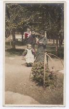 OLD PHOTO COLORED COLORISÉE Japon Japan VERS Vers 1920 1930 Femmes Rehaussée