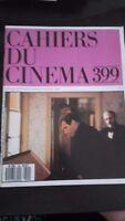 Revista Mensual Cuaderno de La Cinema 399 Siete 1987 ABE