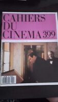 Rivista Mensile Quaderno Del Cinema 399 Sept 1987 ABE