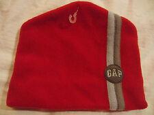 Gap Red Soft Fleece Beanie Cap Ski Hat Teen Younth One Size S/M