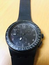 Swatch Analog Watch Wristwatch Working With Battery Ready To Use Preowned