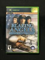 Blazing Angels: Squadrons of WWII (Microsoft Xbox, 2006) Tested And Complete