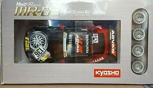 Kyosho Mini Z Porsche 911 GT3 RSR No. 136 Yokohama Body MR-03 ASF 2.4GHz Chassis