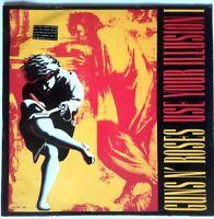 GUNS N' ROSES USE YOUR  ILLUSION 1 1991 VINYL LP Original + Lyric sleeves