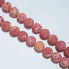 Corail de mousse 16mm Ronde Perles 1 Fil