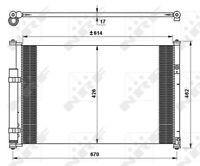 NRF A/C Air Conditioning Condenser 35769 - BRAND NEW - GENUINE - 5 YEAR WARRANTY
