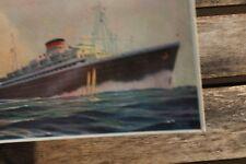 29543 PC ship ITALIA Riunite Cosulich NEPTUNIA OCEANIA Mediteraneo-America 1930