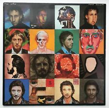 THE WHO - FACE DANCES - 1981 1st press LP + poster + inner superb