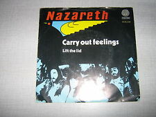 NAZARETH 45 TOURS HOLLANDE CARRY OUT FEELINGS