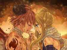 Poster A3 Fairy Tail Natsu Dragneel Lucy Heartfilia 03