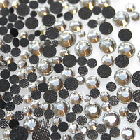 1000 Strass thermocollant Rond s6 - 2 mm (hotfix) cristal A+ qualité Bling