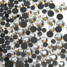 500 Strass thermocollant Rond s10 - 3 mm (hotfix) cristal A+ qualité Bling