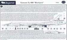Begemot Decals 1/72 TUPOLEV Tu-160 BLACKJACK Soviet Bomber