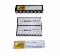 Neu Verlängerte Lizenziert Upgrade ROM Set U34,35 V2.30 Kickstarter 3.1 Amiga