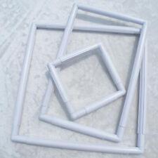 Square Shape Embroidery Frame Set Plastic Cross Stitch Craft Tool Handhold FOYB