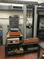 Instron 1122 Tensile Testing Machine 5kn w Manuals & Compression Load Cells