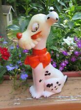 "Cute Comical Vintage 7 1/2"" Dog Figurine Made in Japan Stamp 1930-1950's"