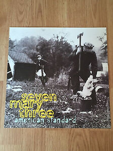 SEVEN MARY THREE American Standard Album Flat Double Sided Display-Promo 1995