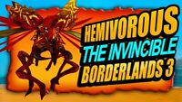 PS4/PS5-XBOX/X-PC Borderlands 3 Level 65 Modded Hemovorous Raid Bundle(5 Items)