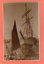 More details for sailing ship c & f nurse poole quay harbour rp pc unused judges  ag568
