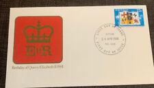 1981 Queen Elizabeth Ii Birthday Australian Apo Fdc Eltham Vic