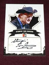 "10-11 ITG Canadiana Stompin' Tom Connors Autograph RARE AUTO ""Hockey Song"" L@@K"