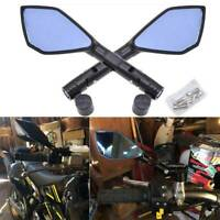 10mm Bolts For Suzuki Savage LS 650 Universal Black Motorcycle Mirrors 8