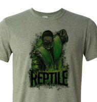 Mortal Kombat - Reptile T shirt - Super soft men's, women's,unisex graphic Shirt