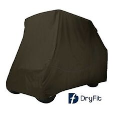 Black Dry-Fit Slip-on Storage Covers for 2 Passenger Golf Cart