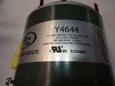 First Choice Y4644 Condenser Fan Motor 1/3-1/6HP 208-230 VAC 60HZ 2 SPD 1075 RPM