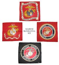 55.9cmx55.9cm USMC Marine Ejército Marina EGA SELLO EMBLEMA ESCUDO 4 BANDANA Set