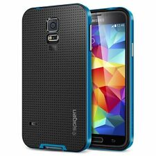 New Hybrid TPU + PC Fitted Case For Samsung GS5 i9600 (Blue)*