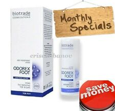 Foot Antiperspirant Spray Stop sweating smell Anti-perspirant BIOTRADE Odorex :)