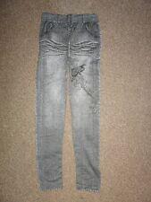 FASHION LOOK Denim Elasticizzato Skinny Jeggings Leggings Pantaloni Elasticizzati Pantaloni
