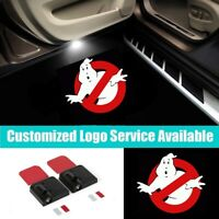 2x Car Door Welcome Laser Projector Shadow Extreme Ghostbusters Logo Light