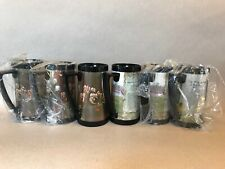 Rare Historical Collectible Centennial Americana Vintage West Bend Mugs