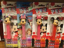 PEZ Disney Mickey Mouse and Friends Minnie Mickey Pluto Daisy Variant Minnie Jr.