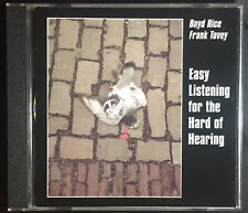 Boyd Rice / Frank Tovey Easy Listening For The Hard Of Hearing MUTE Industrial