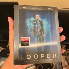Looper lenticular Blu-ray Steelbook   Future Shop exclusive   NEW OOP Canada