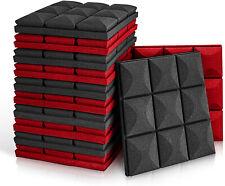 Acoustic Foam Panels, 12 Pack Set 12