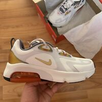 Nike Air Max 200 SE (GS) Trainers Size UK 5.5 EUR 38.5 White/Grey CD6764 100