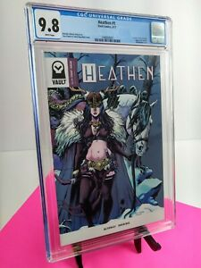 HEATHEN #1 First Print Cover A Alterici 1st App Aydis   Vault Comics   CGC 9.8